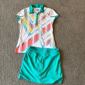 PGA tour ladies golf outfit